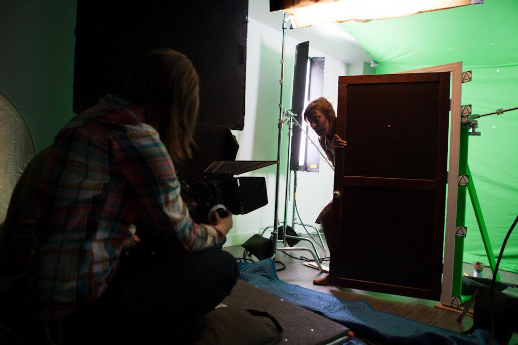 Breaking The Scene: Green screen CGI work on Intruders