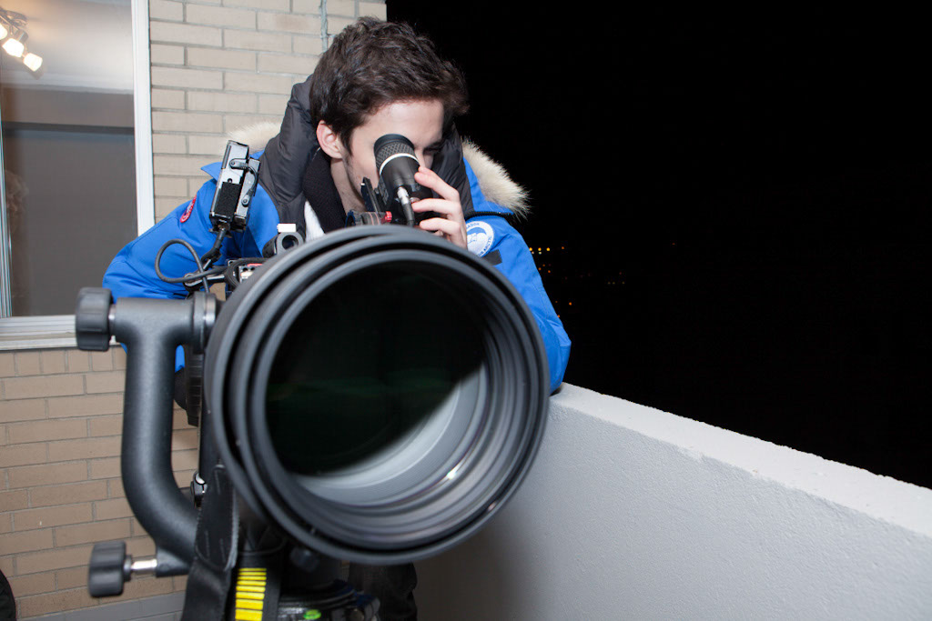 Breaking The Scene: Santiago with the Nikon 600mm lens